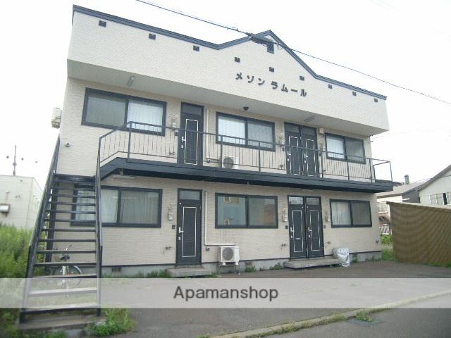 北海道室蘭市、輪西駅徒歩9分の築17年 2階建の賃貸アパート
