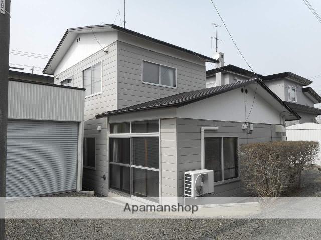北海道根室市の築47年 2階建の賃貸一戸建て