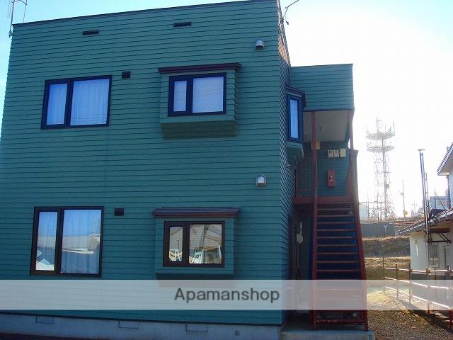 北海道標津郡中標津町の築14年 2階建の賃貸アパート