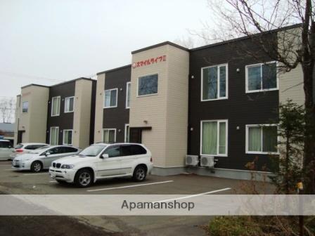 北海道標津郡中標津町の築1年 2階建の賃貸アパート