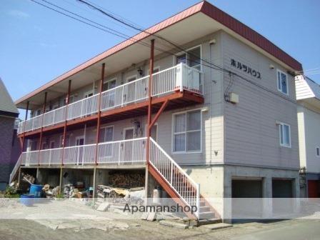 北海道標津郡中標津町の築28年 3階建の賃貸アパート