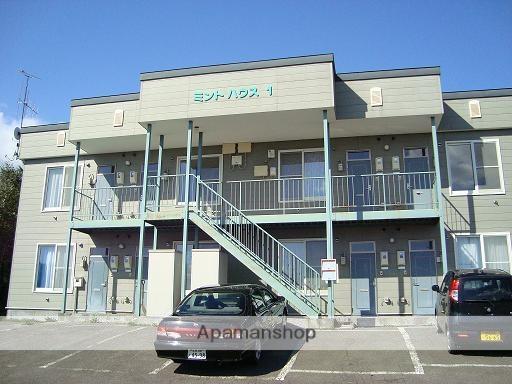 北海道標津郡中標津町の築18年 2階建の賃貸アパート