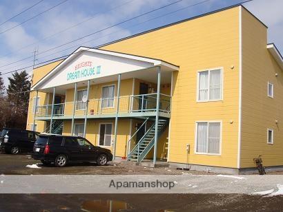 北海道野付郡別海町の築17年 2階建の賃貸アパート