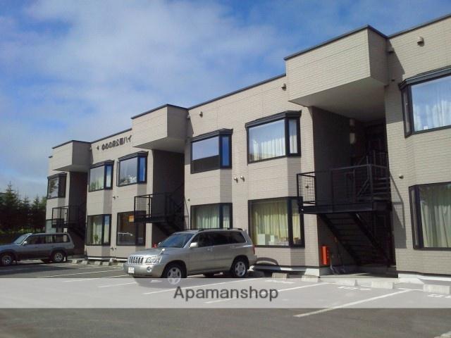 北海道標津郡中標津町の築17年 2階建の賃貸アパート