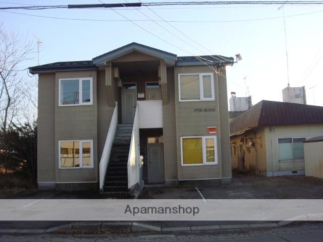 北海道野付郡別海町の築22年 2階建の賃貸アパート
