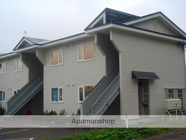 北海道標津郡中標津町の築22年 2階建の賃貸アパート
