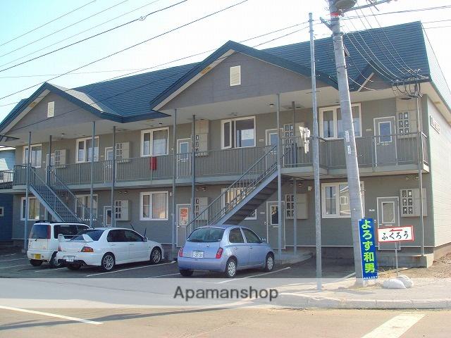 北海道標津郡中標津町の築21年 2階建の賃貸アパート