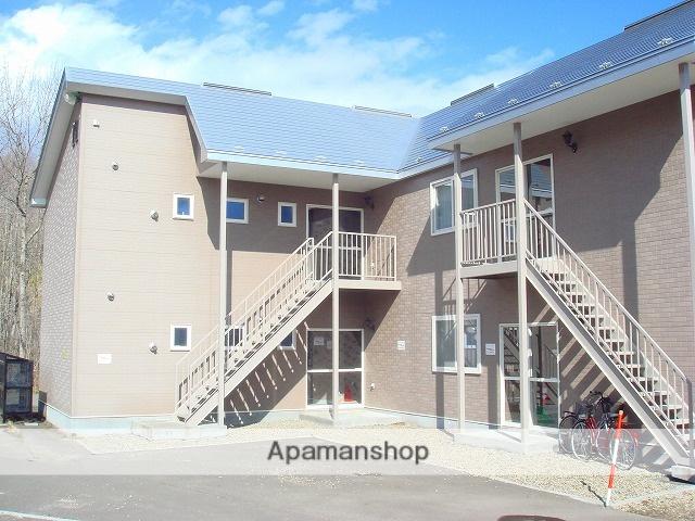 北海道標津郡中標津町の築15年 2階建の賃貸アパート
