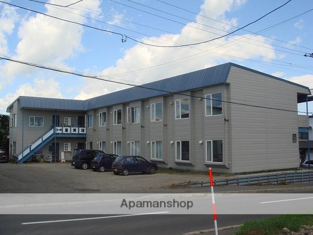 北海道標津郡中標津町の築27年 2階建の賃貸アパート