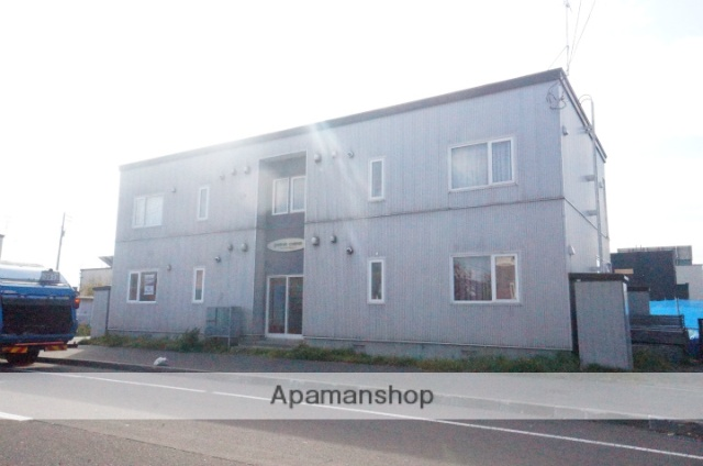 北海道石狩市、手稲駅中央バスバス19分花川南7−1下車後徒歩5分の築12年 2階建の賃貸アパート