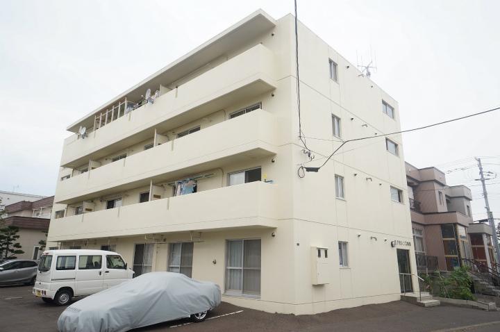 北海道札幌市手稲区、手稲駅徒歩8分の築26年 4階建の賃貸マンション