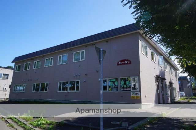 北海道小樽市、小樽駅JR北海道バスバス32分桂岡下車後徒歩4分の築29年 2階建の賃貸アパート