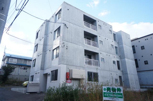 北海道札幌市手稲区、手稲駅徒歩9分の築3年 4階建の賃貸マンション