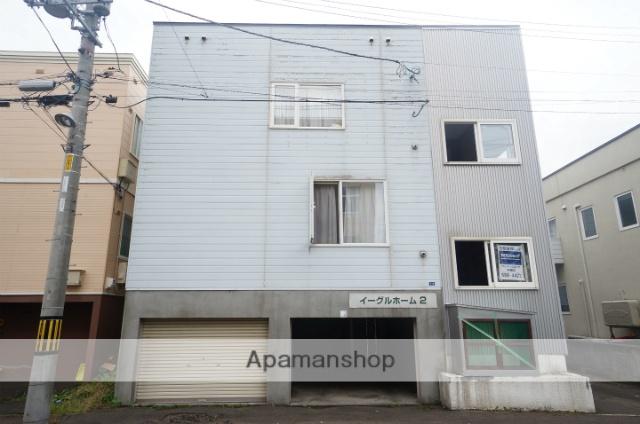北海道札幌市手稲区、手稲駅徒歩15分の築27年 2階建の賃貸アパート