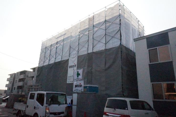 北海道札幌市手稲区の新築 4階建の賃貸マンション
