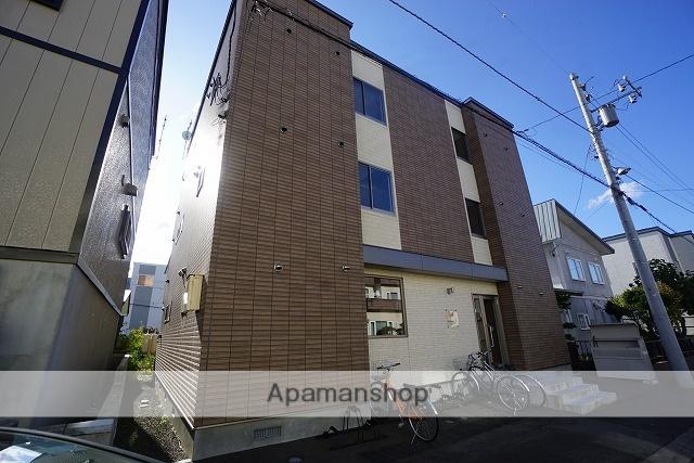 北海道札幌市手稲区、手稲駅徒歩9分の新築 3階建の賃貸アパート