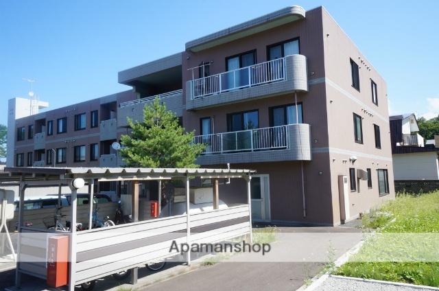 北海道小樽市、銭函駅徒歩19分の築10年 3階建の賃貸マンション