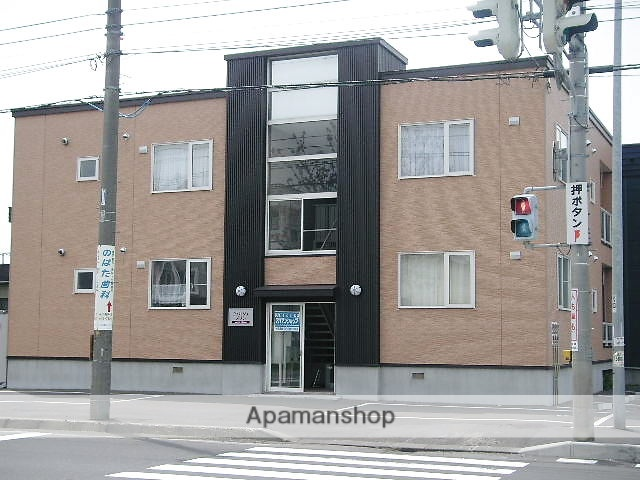 北海道石狩市、手稲駅中央バスバス14分南4線下車後徒歩4分の築13年 2階建の賃貸アパート