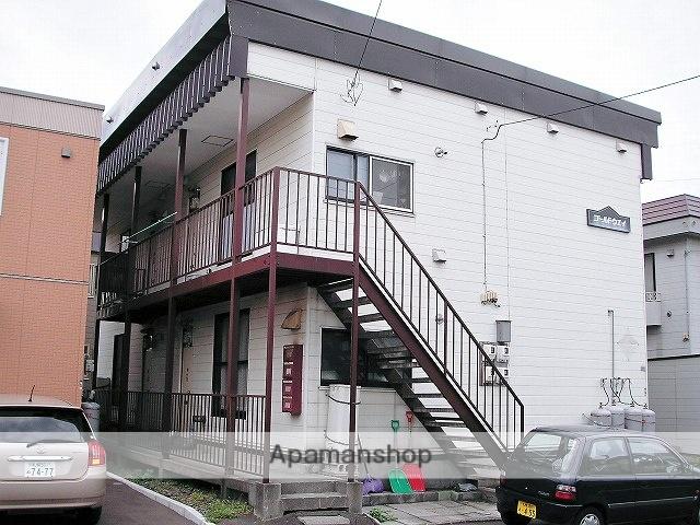 北海道札幌市手稲区、手稲駅徒歩15分の築36年 2階建の賃貸アパート