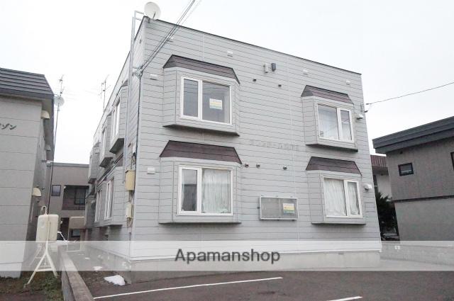 北海道札幌市手稲区、手稲駅JRバスバス15分工業大学前下車後徒歩4分の築25年 2階建の賃貸アパート