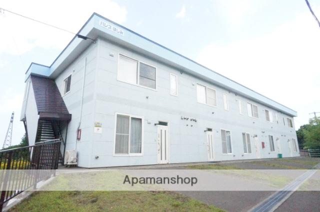 北海道小樽市、ほしみ駅徒歩3分の築16年 2階建の賃貸アパート