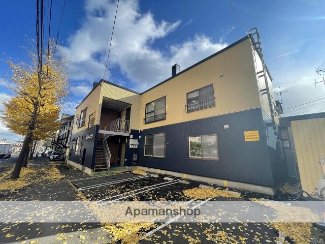 北海道札幌市手稲区、手稲駅徒歩6分の築28年 2階建の賃貸アパート