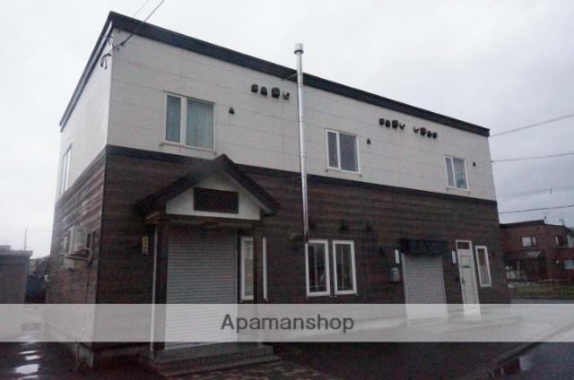 北海道石狩市の築12年 2階建の賃貸アパート