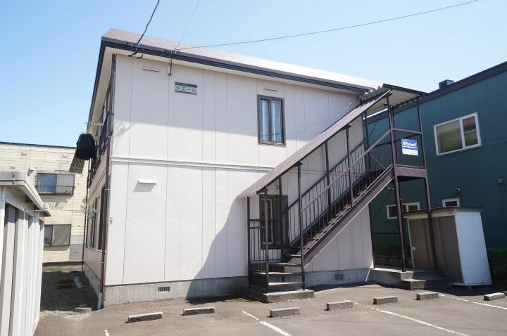 北海道札幌市手稲区、稲積公園駅徒歩2分の築23年 2階建の賃貸アパート