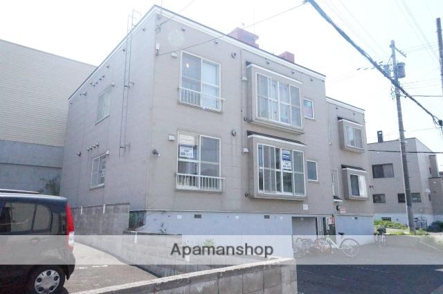 北海道札幌市手稲区、手稲駅徒歩7分の築25年 3階建の賃貸アパート