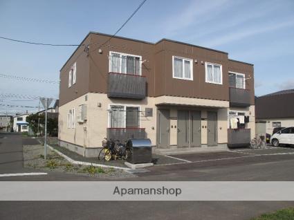 北海道石狩市、新琴似駅中央バスバス14分花川南8−3下車後徒歩2分の築9年 2階建の賃貸アパート