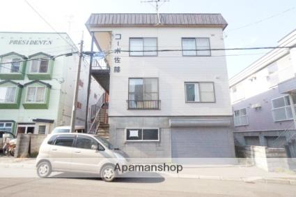 北海道札幌市手稲区、手稲駅徒歩5分の築32年 2階建の賃貸アパート