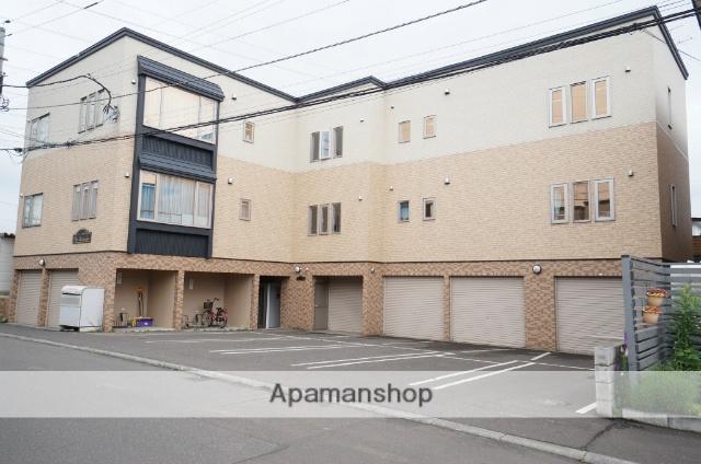 北海道札幌市手稲区、手稲駅JRバスバス15分発寒公園下車後徒歩3分の築9年 3階建の賃貸アパート