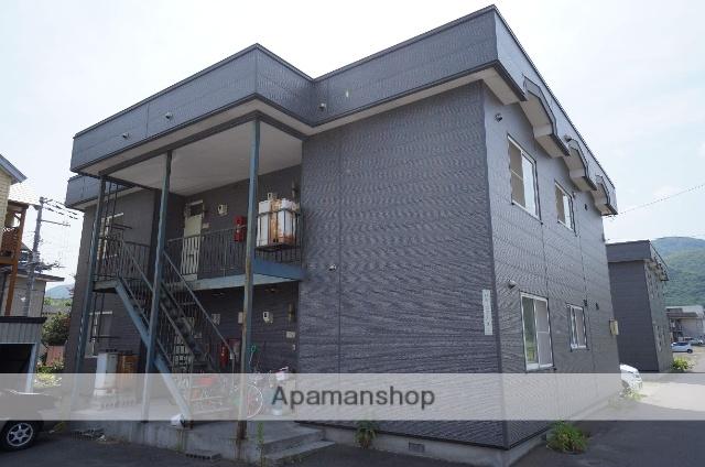 北海道札幌市手稲区、稲穂駅徒歩6分の築23年 2階建の賃貸アパート