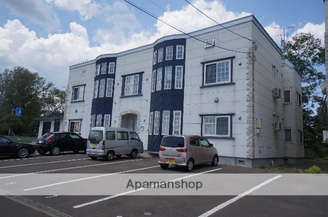 北海道札幌市手稲区、手稲駅JRバスバス13分曙通下車後徒歩9分の築9年 2階建の賃貸アパート