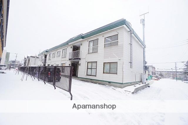 北海道札幌市手稲区、稲穂駅徒歩2分の築28年 2階建の賃貸アパート