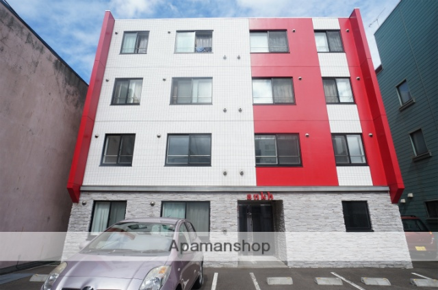 北海道札幌市手稲区、手稲駅徒歩6分の築5年 4階建の賃貸マンション