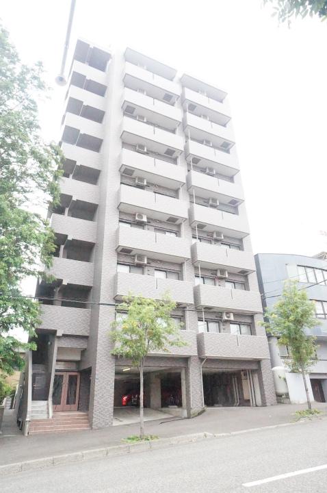 北海道札幌市手稲区、手稲駅徒歩6分の築15年 9階建の賃貸マンション