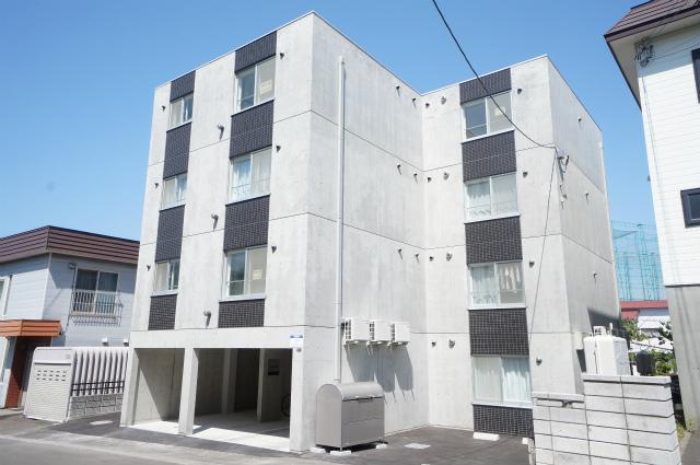 北海道札幌市手稲区、稲穂駅徒歩14分の新築 4階建の賃貸マンション