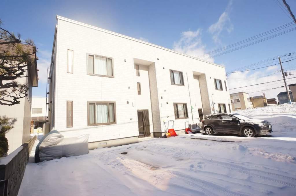 北海道札幌市手稲区、手稲駅徒歩27分の新築 2階建の賃貸アパート