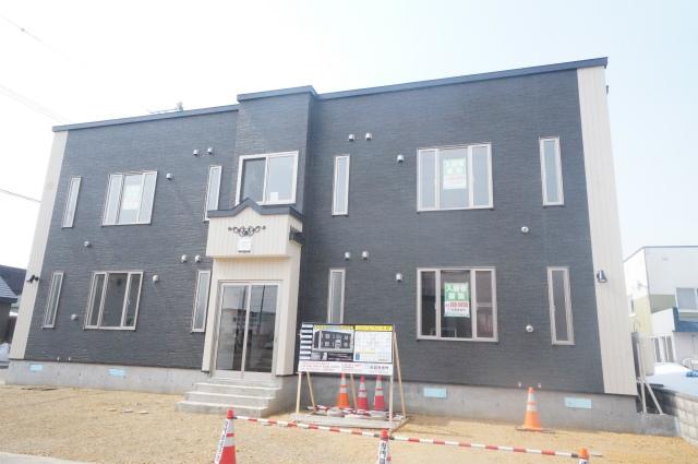 北海道札幌市手稲区、手稲駅JRバスバス8分曙7−2下車後徒歩2分の新築 2階建の賃貸アパート