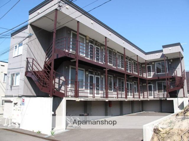 北海道小樽市、銭函駅徒歩22分の築20年 2階建の賃貸アパート
