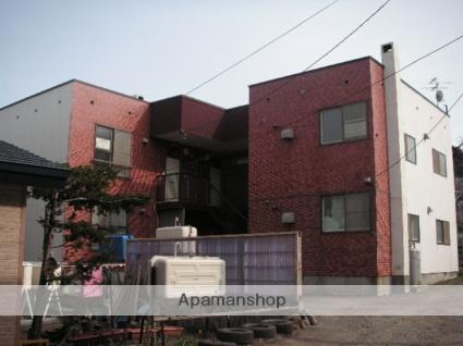 北海道小樽市、銭函駅徒歩1分の築30年 2階建の賃貸アパート