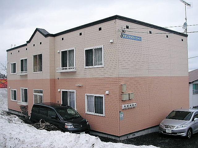 北海道小樽市、銭函駅徒歩22分の築12年 2階建の賃貸アパート