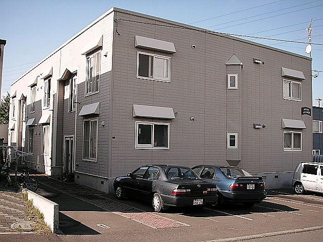 北海道札幌市手稲区、星置駅徒歩7分の築24年 2階建の賃貸アパート