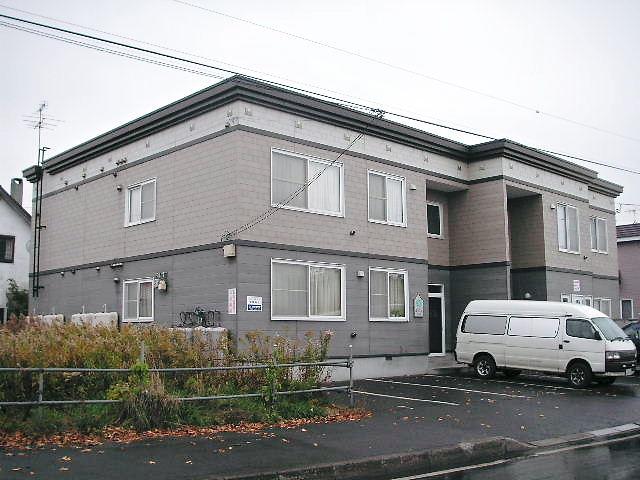 北海道札幌市手稲区、ほしみ駅徒歩12分の築19年 2階建の賃貸アパート