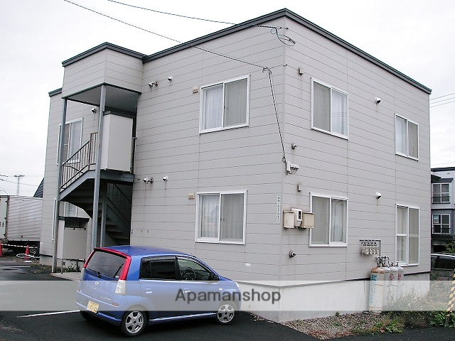 北海道札幌市手稲区、稲穂駅徒歩8分の築16年 2階建の賃貸アパート