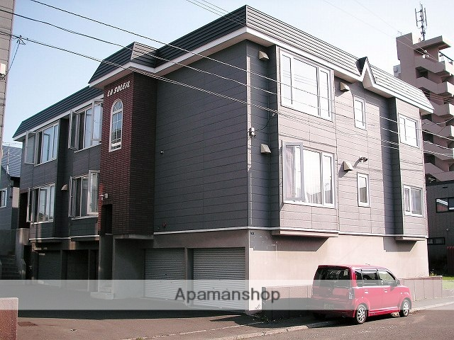 北海道札幌市手稲区、稲積公園駅徒歩12分の築23年 2階建の賃貸アパート