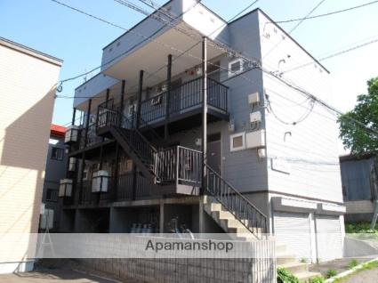 北海道小樽市、銭函駅中央バスバス8分桂岡下車後徒歩4分の築21年 2階建の賃貸アパート