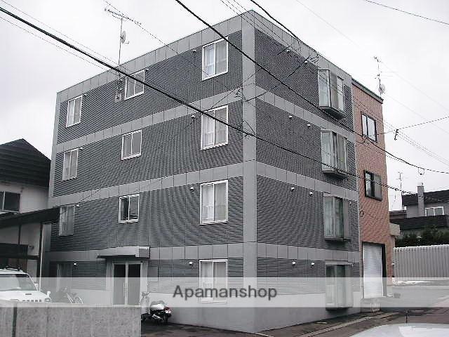 北海道小樽市、銭函駅徒歩20分の築17年 4階建の賃貸マンション
