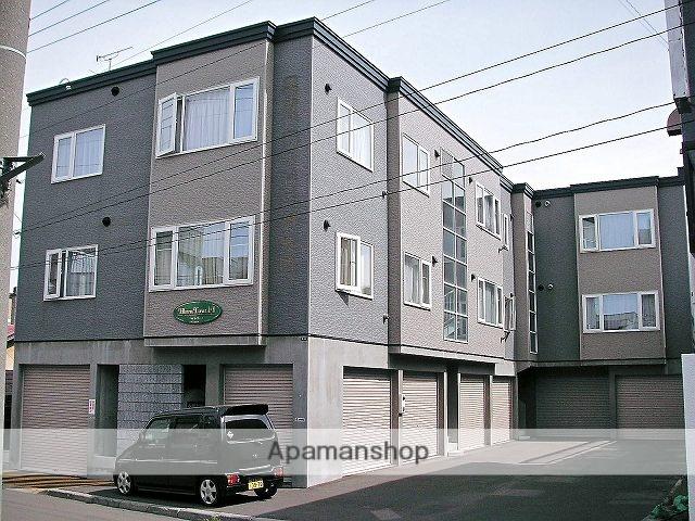 北海道札幌市手稲区、手稲駅徒歩6分の築17年 2階建の賃貸アパート